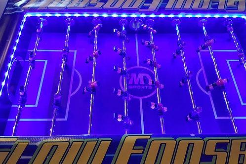 Glow LED Foosball Table Rental