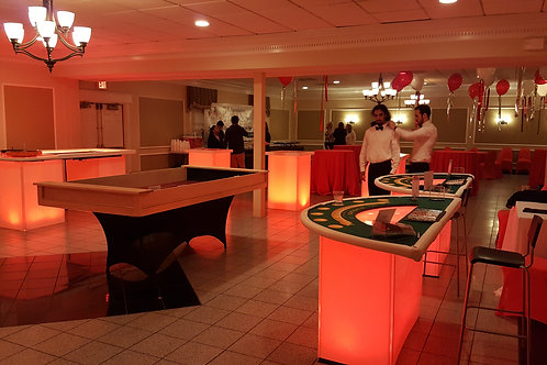 LED Blackjack Table Rental