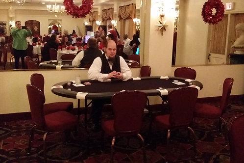 Texas Holdem Poker Table Rental