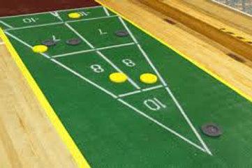 Floor Shuffle Board Rentals