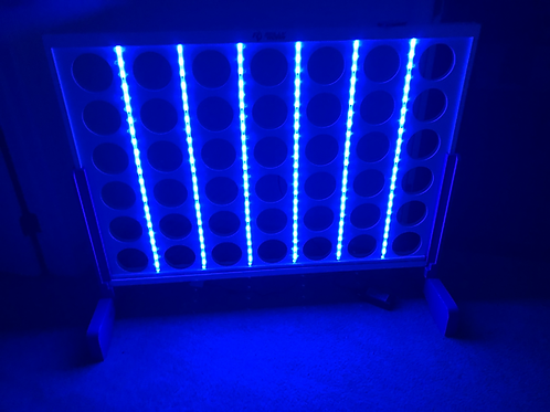 Giant LED Connect Four Game Rental