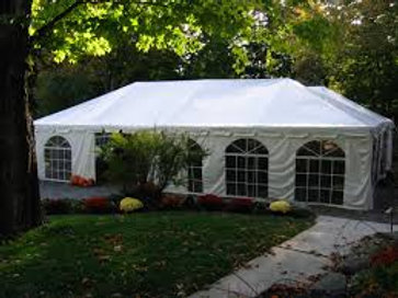 20 x 40 Frame Tent Rental