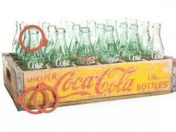 Vintage Ring A Bottle Carnival Game Rental
