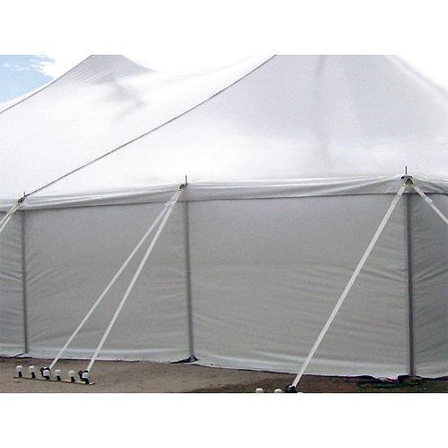 White Tent Sidewall Rentals