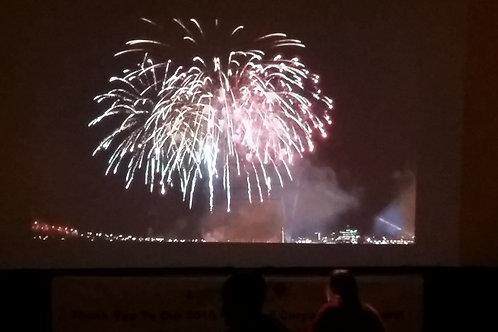 Big Screen Fireworks Show