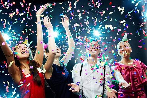 Confetti Cannon Party Rental