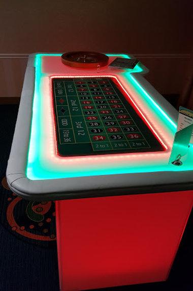 LED Roulette Table Rental