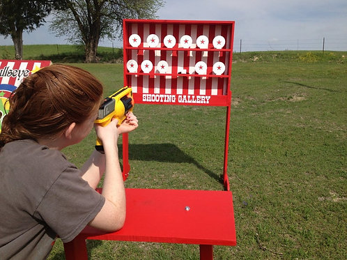 Bust A Plate Knock Down Game Rental