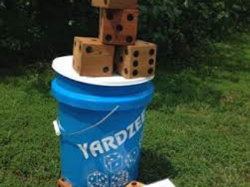 Giant Yardzee Game Rentals