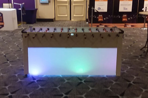 LED Giant Foosball Table Rental