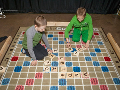 Giant Scrabble Rental