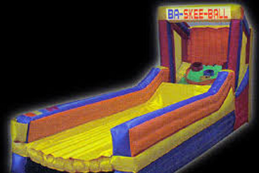 Inflatable Skeeball Basketball Game Rental
