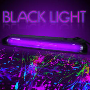 Black Light Party Rental