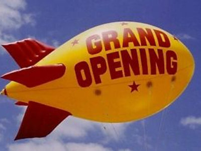 Inflatable Advertising Blimp Rental