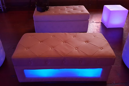 LED Bench Rental