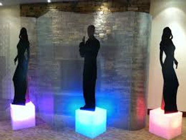 LED Cube Accent Stand Rentals