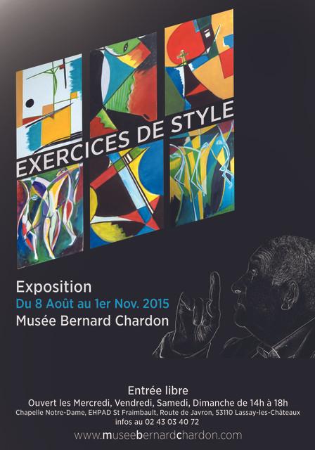 "Nouvelle exposition ""Exercices de style"""