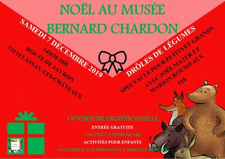Noël au musée Bernard Chardon