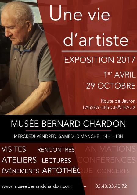 Exposition 2017 : Une vie d'artiste