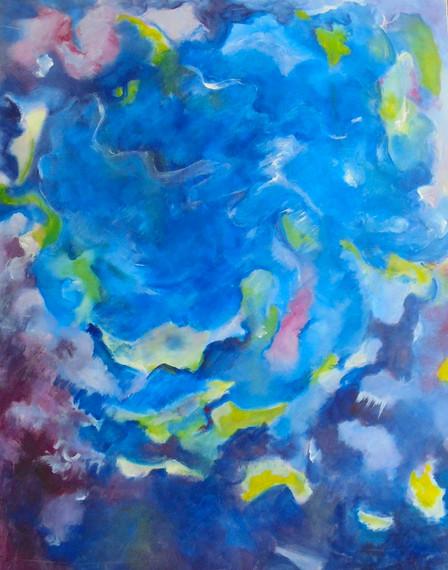 Langage des couleurs : Méli-mélo en bleu
