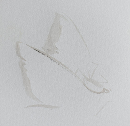 Edith Dormandy, 'Moth Large: IV', 2018, watercolour on paper, 49x35cm