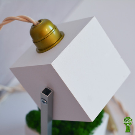 Настольный светильник Loft из архибетона
