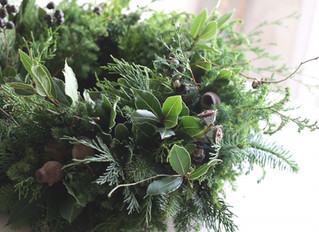 Christmas Wreath Lesson !  11/27 2019