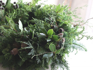 Christmas Wreath Lesson !  11/27 2019