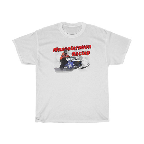 White Maxceleration Racing Tee