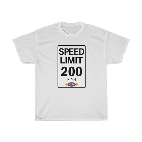 200 KPH Speed Limit Tee Shirt