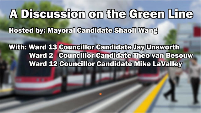 A Candidate Forum On The Green Line
