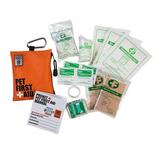 Pocket Pet First Aid Kit - 16 pieces