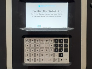Waterlock - Our waterlock allows easy access to your account.