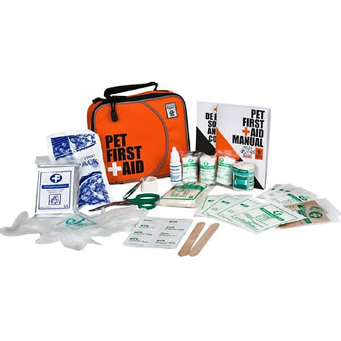 Compact Pet First Aid Kit - 33 pieces