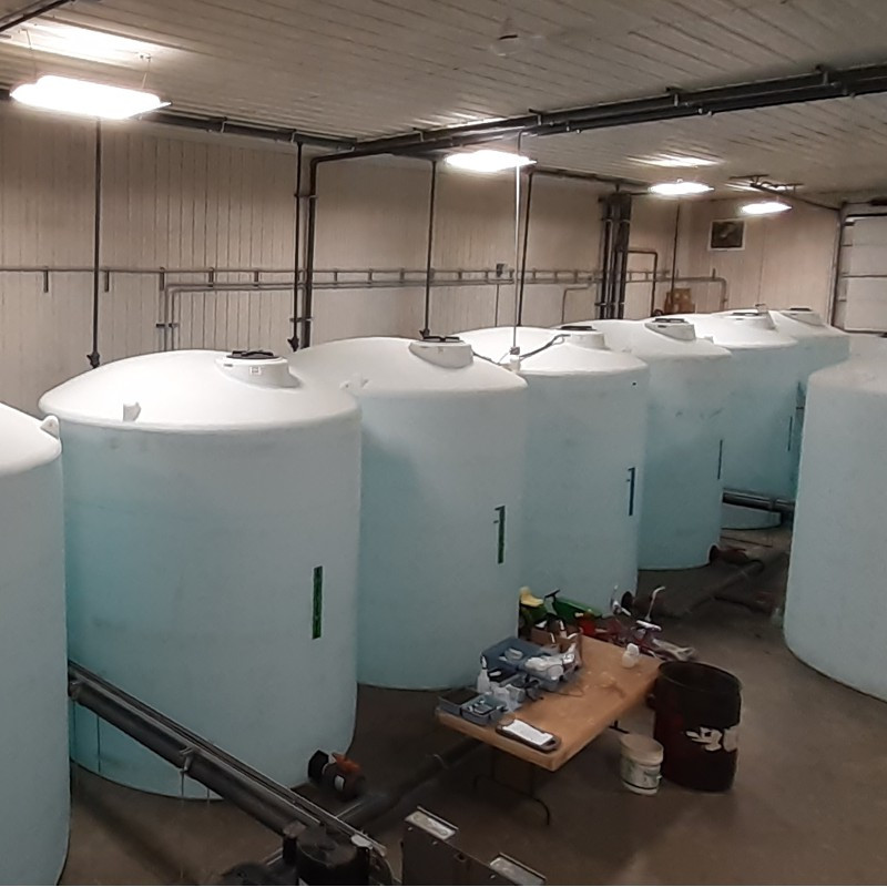 Tanks - Our capacity means we are ready to meet any demand.