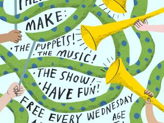 Puppet Panto - free workshops at The Bridge!