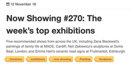 a-n top exhibitions