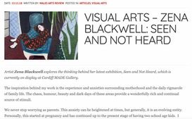 Interview with Wales Arts Review