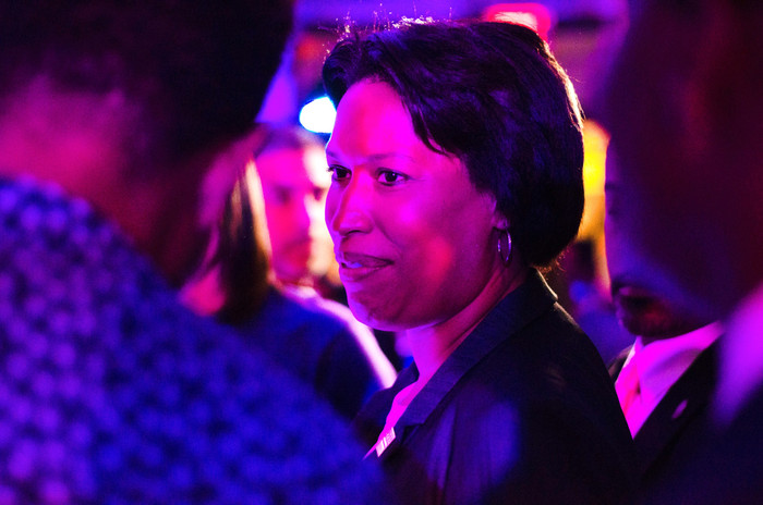 Mayor Muriel Bowser of DC at the 202 Cre