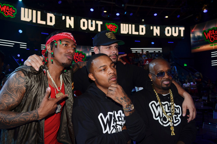 Nick Cannon, Jermaine Dupri, Bow Wow and
