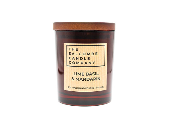 Lime & Basil & Mandarin Candles