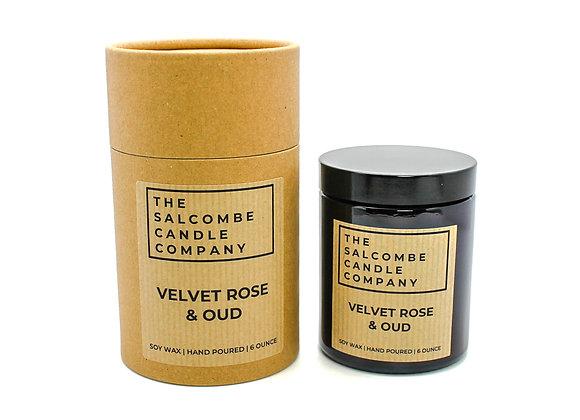 Velvet Rose & Oud Candles