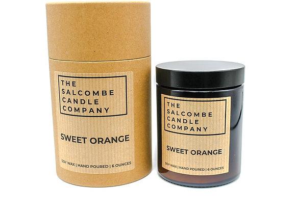 Sweet Orange Candles