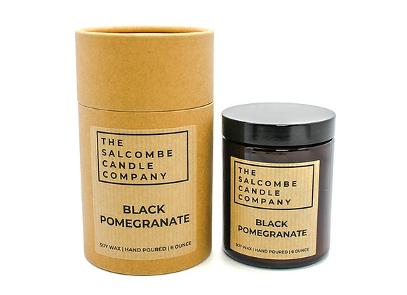 Black Pomegranate Candles