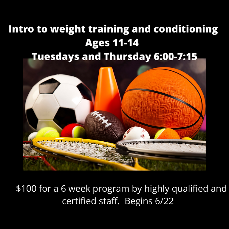Intro to weight training