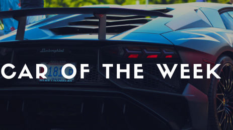 Car Of The Week (November)