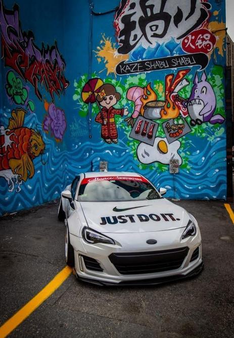 Rocket Bunny & A Mural