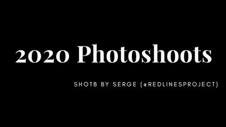 2020 Photoshoots
