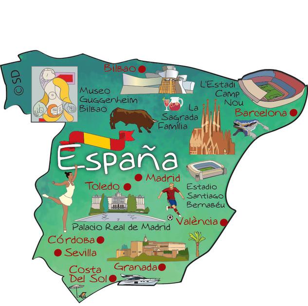 Spain - magnet