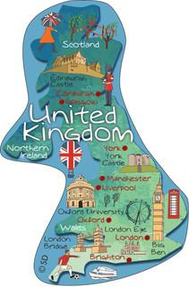 United Kingdom - magnet